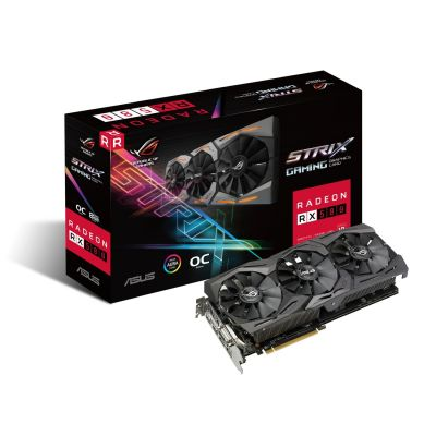 Asus AMD Radeon ROG Strix RX 580 OC Grafikkarte 8GB GDDR5 2x HDMI/2xDP/DVI - Preisvergleich