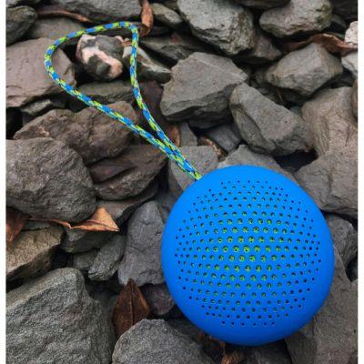 BOOMPODS Boompods Rokpod blau portabler Bluetooth-Lautsprecher