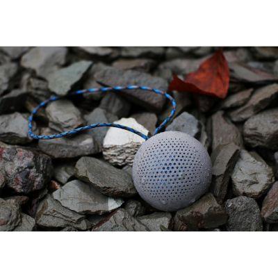 BOOMPODS Boompods Rokpod dunkelgrau portabler Bluetooth-Lautsprecher