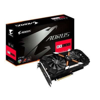 Gigabyte AORUS Radeon RX 580 XTR 8G, Grafikkarte