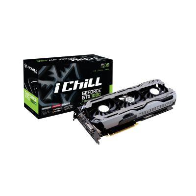 Inno3D  GeForce GTX 1080 iChiLL X3 OC 11,4 GBPS 8GB Grafikkarte 3xDP/DVI/HDMI