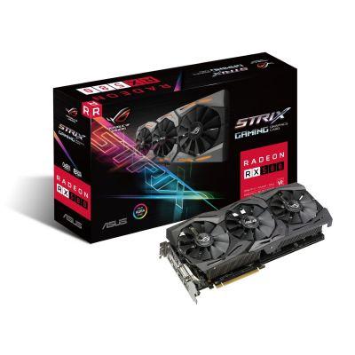Asus AMD Radeon ROG Strix RX 580 Grafikkarte 8GB GDDR5 2x HDMI/2xDP/DVI - Preisvergleich