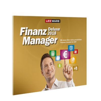 Lexware FinanzManager Deluxe 2018 (Version 25.00) FFP