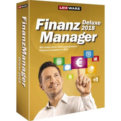 Lexware FinanzManager Deluxe 2018 (Version 25.00) Minibox