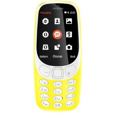 Nokia 3310 (2017er Edition) Dual-SIM Mobiltelefon Gelb - Preisvergleich