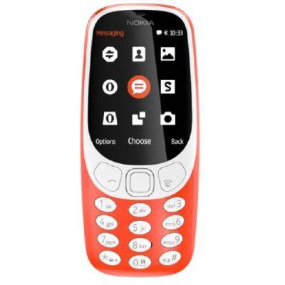 Nokia . 3310 (2017) Dual-SIM rot