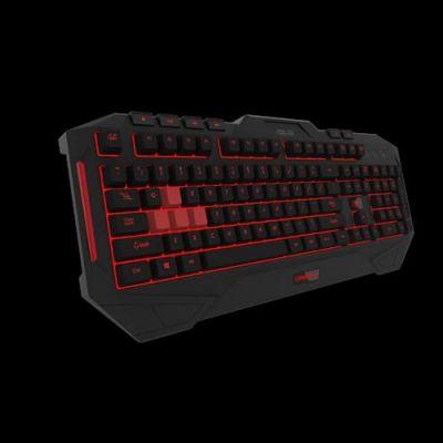 Asus  Cerberus Keyboard MKII Gaming Tastatur USB
