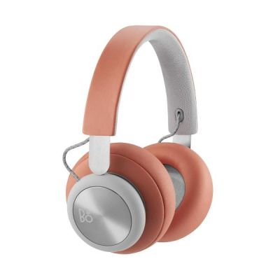 Bang Olufsen B&O PLAY BeoPlay H4 Over Ear Bluetooth Kopfhörer Tangerine/Grey