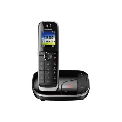 Panasonic KX-TGJ320GB schnurloses DECT Festnetztelefon AB, schwarz - Preisvergleich