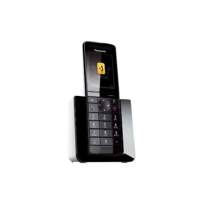 Panasonic KX-PRS120GW schnurloses DECT Festnetztelefon, schwarz - Preisvergleich