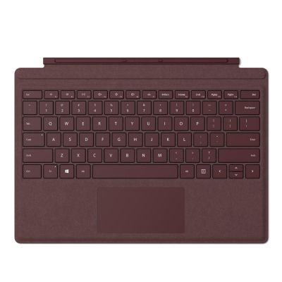 Microsoft Surface Pro Signature Type Cover bordeaux rot