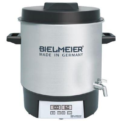 Bielmeier  BHG 411.1 Einkoch-Vollautomat Edelstahl mit Auslaufhahn 27Liter