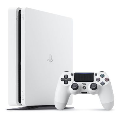 Sony PlayStation 4 Slim 500GB Konsole weiß - Preisvergleich