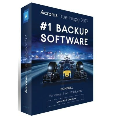 Acronis  True Image 2017 3 Computer - Minibox