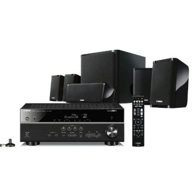 Yamaha  YHT-4940 Home Cinema Set schwarz 4K, HDR, Bluetooth, WLAN, MusicCast