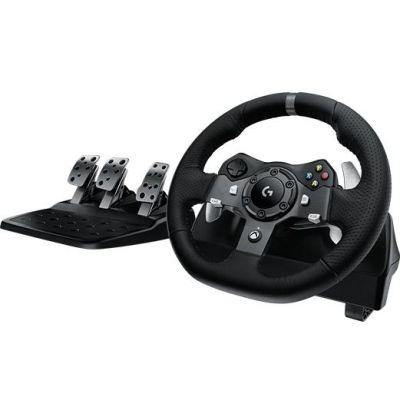 Logitech G920 Driving Force Rennlenkrad Pedale für XBOX One und PC 941-000123 - Preisvergleich