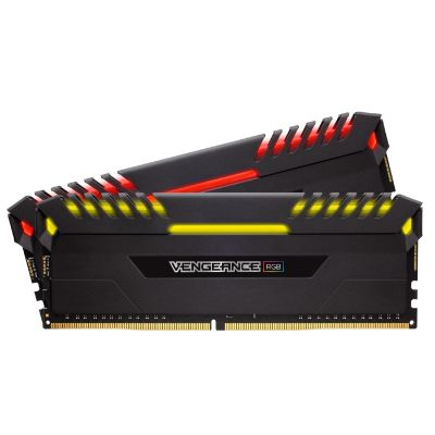 Corsair 16GB (2x8GB)  Vengeance RGB DDR4-3600 RAM CL18 (18-19-19-39) Kit