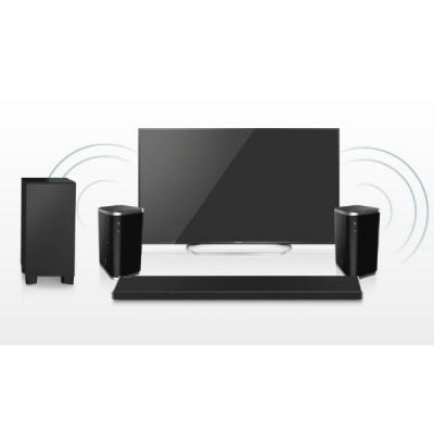 Panasonic  SC-ASC01 5.1 ALL Connected Wireless Surround System 2x ALL6 + ALL70T