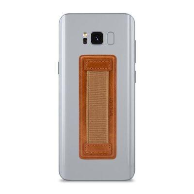 StilGut Smartphone-Fingerhalterung, cognac - Preisvergleich