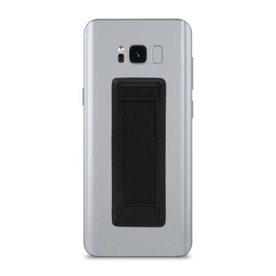 StilGut Smartphone-Fingerhalterung, schwarz-nappa - Preisvergleich