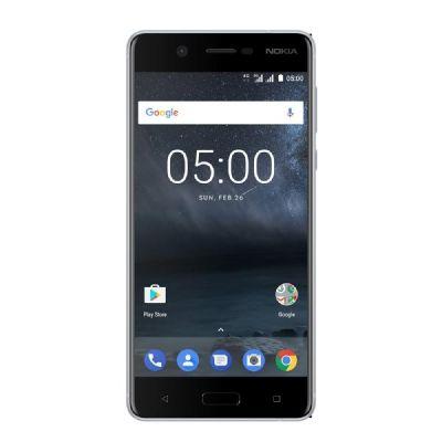 Nokia 5 16GB silver white Dual-SIM Android 7.1 Smartphone - Preisvergleich