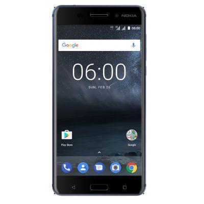 Nokia 6 32GB tempered blue Dual-SIM Android 7.1 Smartphone - Preisvergleich