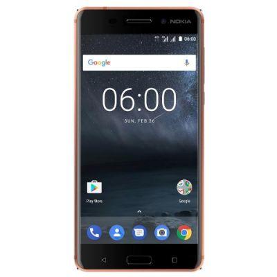 Nokia 6 32GB copper Dual-SIM Android 7.1 Smartphone - Preisvergleich