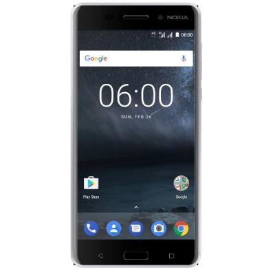 Nokia 6 32GB silver white Dual-SIM Android 7.1 Smartphone - Preisvergleich
