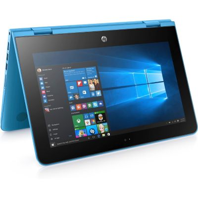 HP x360 11-ab003ng 2in1 Notebook blau N3710 HD Windows 10
