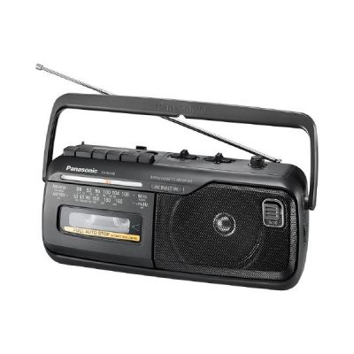 Panasonic RX-M40DE-K Mono Radiorecorder mit Kassette schwarz - Preisvergleich