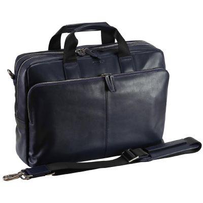 StilGut Kollwitz Notebooktasche bis 15 zoll, blau - Preisvergleich