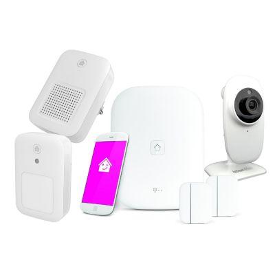 Deutsche Telekom  Smart Home großes Starterset Sicherheit mit Innenkamera