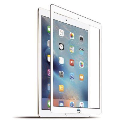 KMP  Protective Glass für iPad 9.7 (2017), iPad Pro 9.7, iPad Air 2, frame white