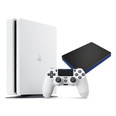 Sony PlayStation 4 Slim 500GB Konsole weiß inkl...