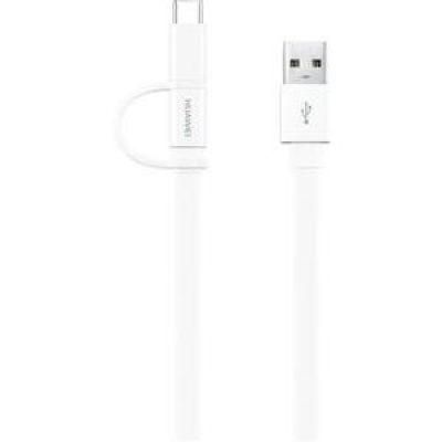 Huawei Datenkabel 2-in-1 (USB C + Micro USB) 1,5m bis 2A AP55S - Preisvergleich