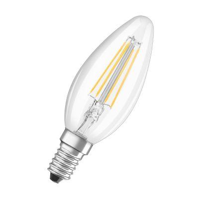 Osram E14 4W 827 Filament-LED-Kerzenlampe 2er Set
