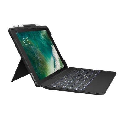 Logitech Slim Combo Hülle und Tastatur für iPad Pro 10,5 2017 schwarz