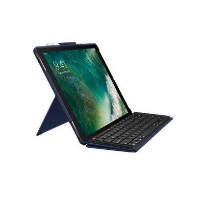 Logitech Slim Combo Hülle und Tastatur für iPad Pro 12,9 2017 blau 920-008423 - Preisvergleich