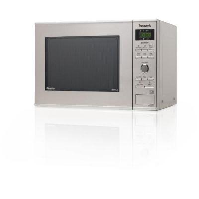Panasonic NN-GD37HSGTG Inverter-Mikrowelle mit Quarzgrill Edelstahl - Preisvergleich