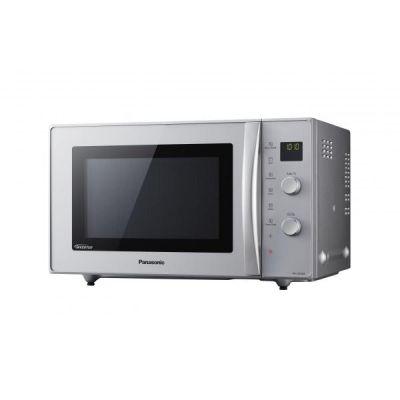 Panasonic NN-CD575MGPG Inverter-Mikrowelle mit Heißluft und Grill, silber