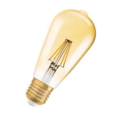 Osram E27 7W 824 LED-Rustikalampe Vintage Edition 1906