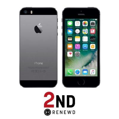 Apple iPhone 5s 64 GB spacegrau 2ND refurbished - Preisvergleich