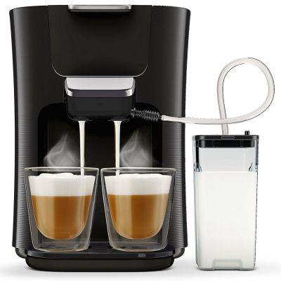 Senseo Latte Duo HD6570/60 Padmaschine mit Aroma-Boost, Schwarz