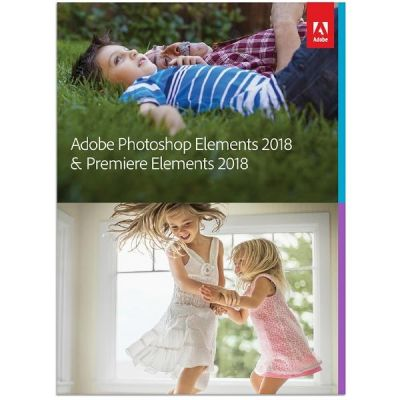 Adobe Photoshop Elements & Premiere Elements 2018 Minibox GER, deutsch