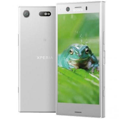 Sony Xperia XZ1 compact white silver Android 8 ...