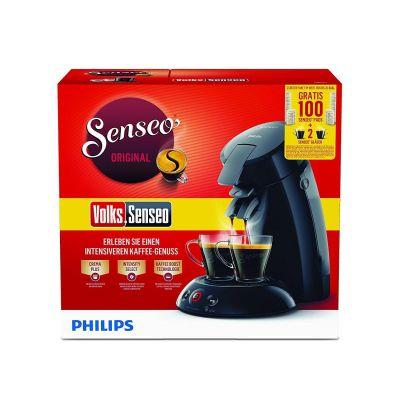 Senseo Original HD6554/69 Padmaschine mit Kaffee-Boost schwarz, Volks-Senseo