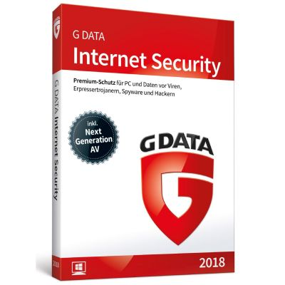 G DATA Internet Security 2018 1 PC Minibox