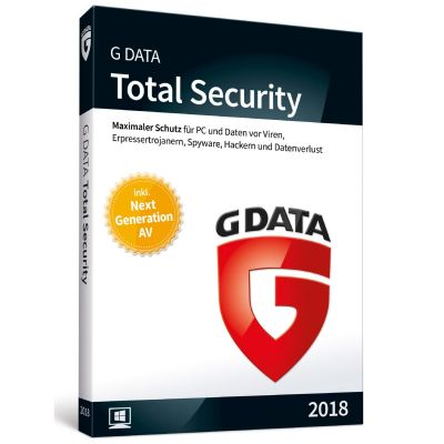G DATA Total Security 2018 1 PC Minibox
