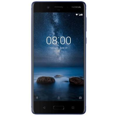 Nokia 8 64GB glossy blue Android 7.1 Smartphone - Preisvergleich