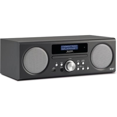 TechniSat TECHNIRADIO DIGIT CD, anthrazit, DAB+/UKW-Stereoradio mit CD-Player - Preisvergleich